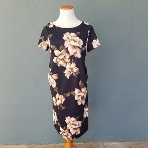 Pinkblush Maternity Floral Bodycon Dress